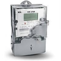 Счетчик однофазный НІК 2102 электронный многотарифный ( НІК 2102-01.Е2Т,  5-60А/220В)