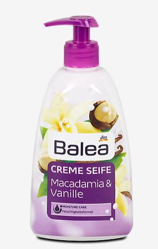 Balea Creme Seife Macadamia & Vanille жидкое мыло 500 ml