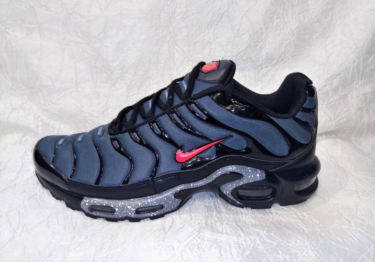 separation shoes 77238 71676 Мужские кроссовки Nike Air Max 95 Tn Plus синий с черным