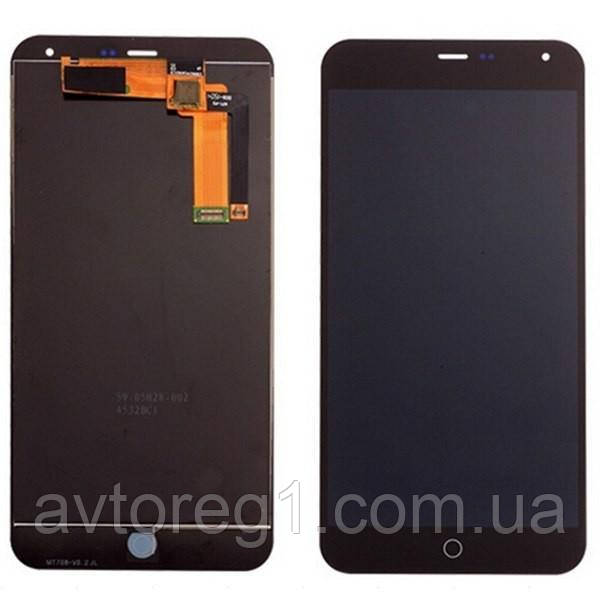 Дисплей Meizu M1 Note with touchscreen black orig