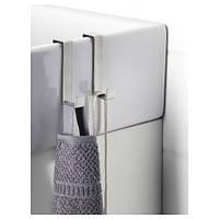 ЛИЛЛОНГЕН Дверная вешалка, крючки, нержавеющ сталь 10197671 ИКЕА, IKEA, LILLANGEN