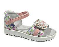 Красивые детские босоножки для девочек,ТОМ.М pink,  28, фото 1