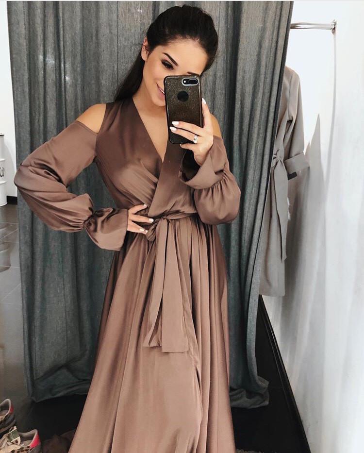 6ae16f3f131 Шелковое вечернее пышное платье в пол  продажа