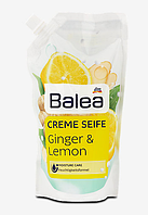 Balea Creme Seife Ginger & Lemon Nachfüllbeutel жидкое мыло запасная упаковка 500 ml