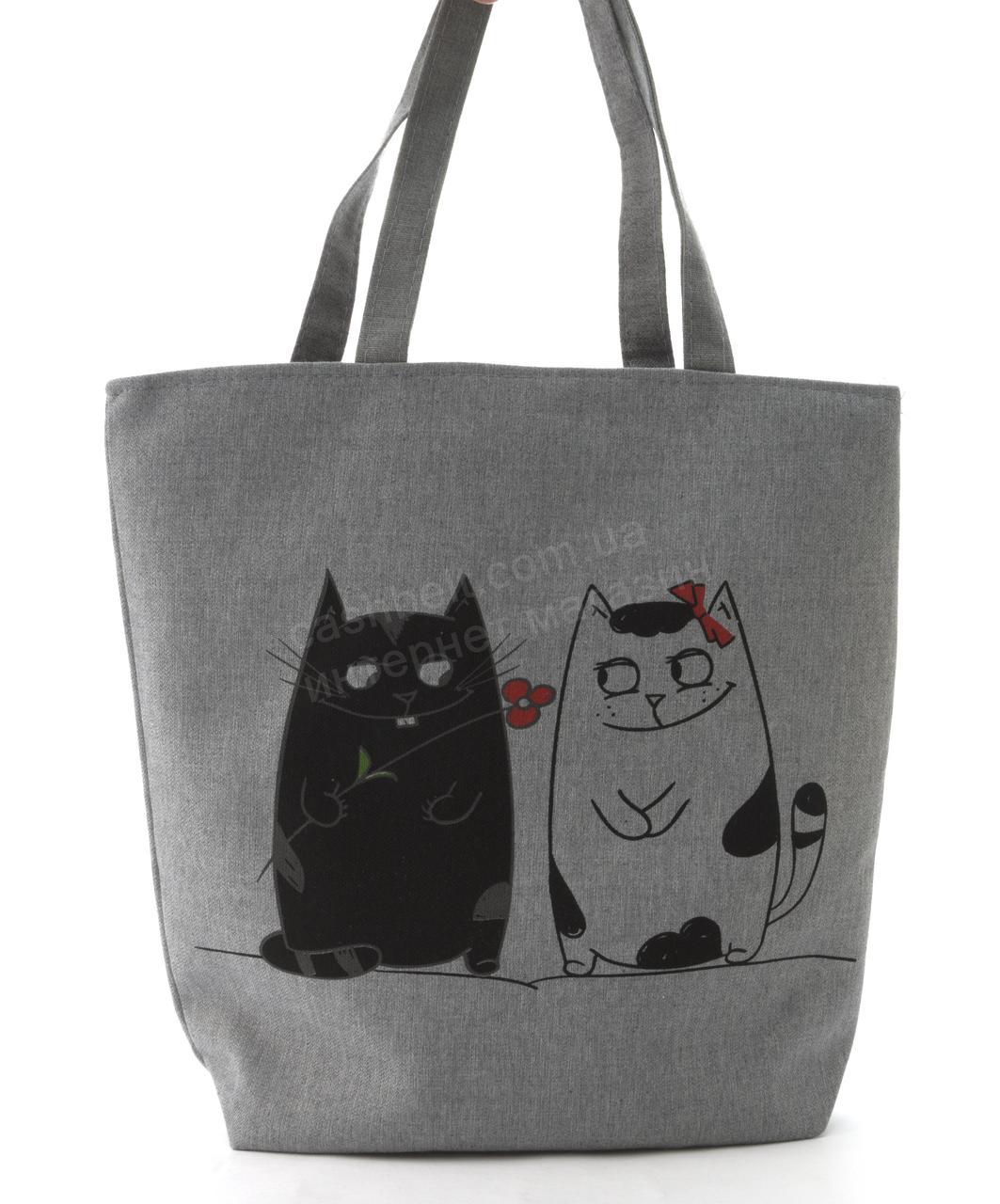 Легкая льняная пляжная женская сумка art. Лён  (101699)