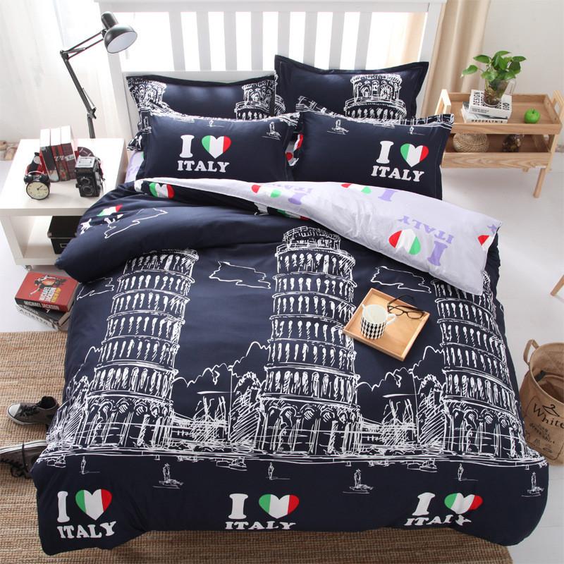 Комплект постельного белья Италия (двуспальный-евро)