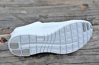 Модные мокасины женские сетка Nike.Белые,красные,черные! без шнурков мягкие , фото 3