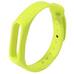 ϞРемешок Uwatch M2 Green для фитнес браслета сменный декоративный на руку эргономичный