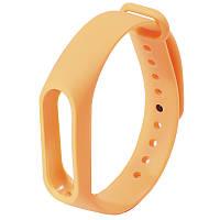 ✓Ремешок Uwatch M2 Оранжевый для фитнес браслета Xiaomi Mi Band 2 на руку унисекс