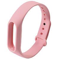 ★Ремешок Uwatch M2 Розовый для фитнес браслета Xiaomi на любую руку универсальный