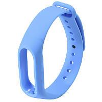 ✦Ремешок Uwatch M2 Синий для капсулы фитнес браслета на руку универсальный