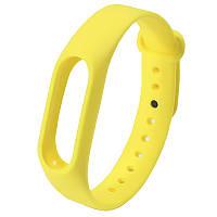 ☛Ремешок Uwatch M2 Желтый на руку для фитнес браслета с регулируемой длинной