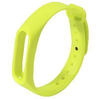 ☀Ремешок Uwatch M2 Зеленый наручный для фитнес браслета Xiaomi с застёжкой-регулятором размера