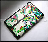 Цветной чехол книжка для Lenovo Tab 3 7.0 Essential 710L 710F эко кожа PU, цвет Life Tree (Живое дерево), фото 2