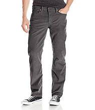 Вельветовые джинсы Levis 514 GREY