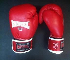 Перчатки для бокса Reyvel кожа 18oz