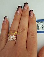Женское золотое кольцо 585 пробы