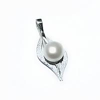 Натуральный жемчуг, серебро, фото 1