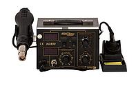 Паяльная станция Kraft&Dele KD859 - 852D++ с феном