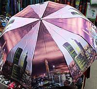 """Зонтик с системой антиветер  """"Небоскрёбы Нью Йорка"""", фото 1"""