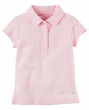 Рожеве поло для дівчинки 5-6 років