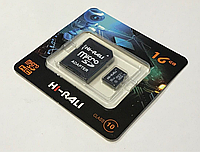 Карта памяти microCD 16 Gb Hi-Rali + адаптер класс 10