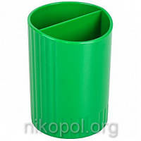 """Стакан для ручек """"КиП - СТРП-02"""", зеленый 7х9см."""