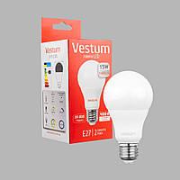 Светодиодная лампа Vestum LED  A65 15W 4100K 220V E27