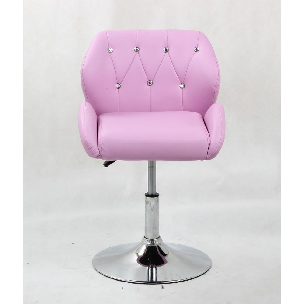 Кресло парикмахерское HC-949N в стразах