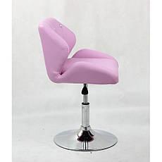 Кресло парикмахерское HC-949N в стразах  , фото 2