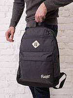 "Рюкзак  темно-серый Backpack Pobedov ""Roominess"" ( dark gray )"