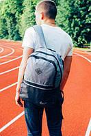 Рюкзак серо-черный Pobedov Backpack advantage ( Gray - Black)