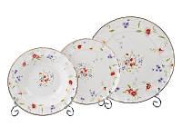 "Набор из 18 тарелок ""Каролина"", фарфор 943-122"