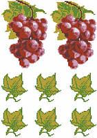 Виноград (счетный крест, бисер)