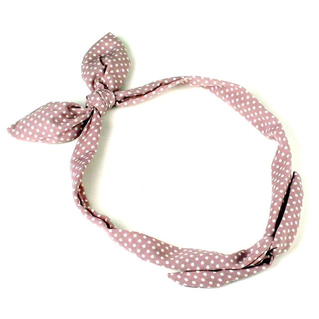 солоха розовая в горошек