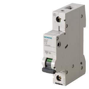 Автоматический выключатель Siemens Sentron  (230/400В 6кA, 1-пол., C, 4A), 5SL6104-7
