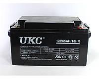 Аккумулятор UKC Battery 12V 65A Гелиевый