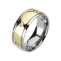 Мужское кольцо Spikes из титана (США), фото 1