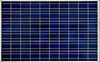 Cолнечная батарея (панель) 50Вт, поликристаллическая