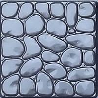 Форма для тротуарной плитки Галька