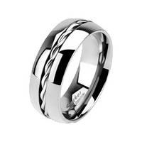 Женское кольцо Spikes из титана спираль (США), фото 1