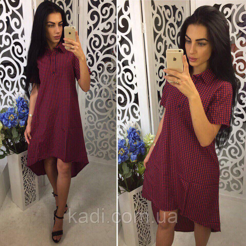 ce16daacaaef Платье на девушку в клетку - Titova- магазин женской одежды. Showroom  ТЦ