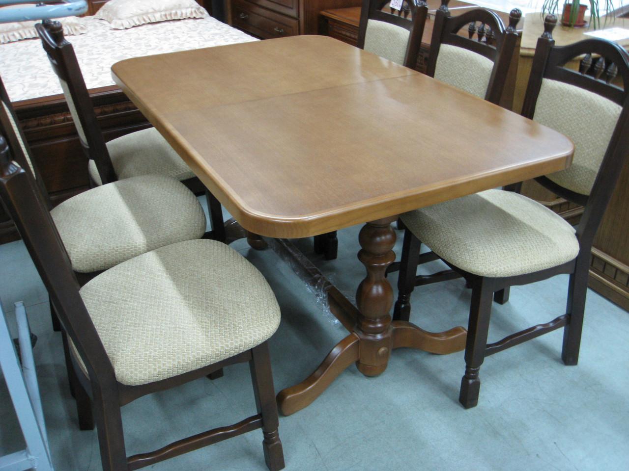 Стол обеденный раскладной Явир 3 GOOD WOOD Рускополянский Мебельный Комбинат Явир