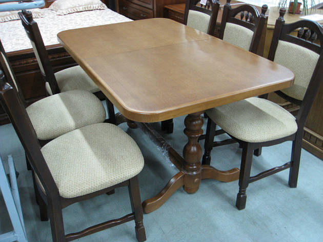 Стол обеденный раскладной Явир 3 GOOD WOOD Рускополянский Мебельный Комбинат Явир, фото 2