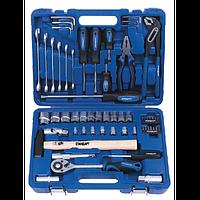 Набор инструментов в машину 59ед. СТАНДАРТ ST-0059 (автоинструмент, в чемодане, для автомобиля)