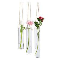 Декоративные вазы Hangende vaasjes, 3 шт.