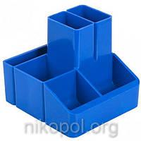 """Стакан для ручек """"КиП - СТРП-04"""", синий 10х11х9см."""