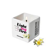 Массажная свеча Love To Love LIGHT MY FIRE Monoi (80 мл)