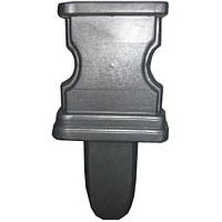 Форма для ножки скамейки