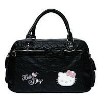 Детская дорожная сумка Hello Kitty Черный